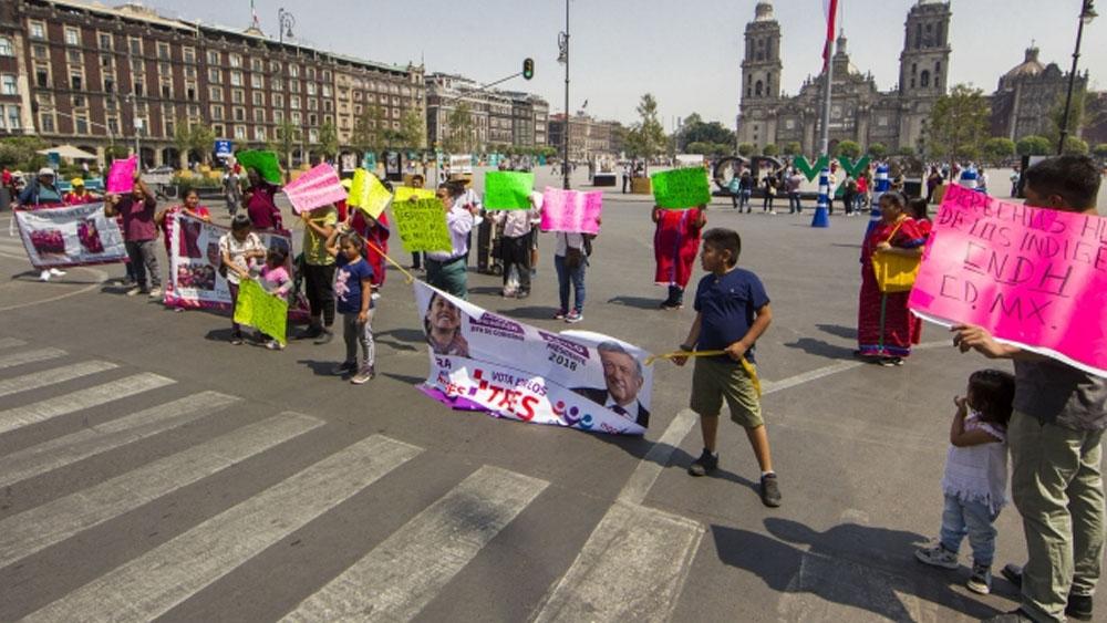 Prevén tres movilizaciones en la Ciudad de México. Noticias en tiempo real