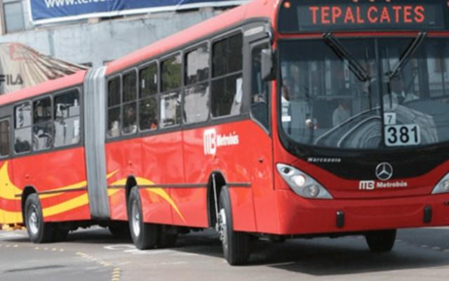 Suspenden servicio en la estación UPIICSA del Metrobús - metrobús upiicsa suspensión de servicio