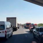 Reabren la México-Tulancingo tras choque de pipa contra autobús