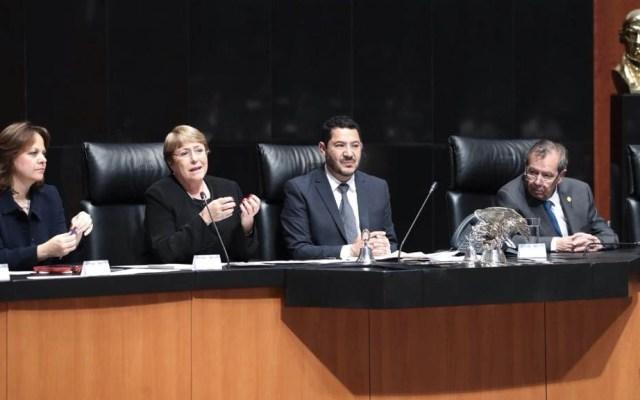 Michelle Bachelet alerta por retroceso en derechos humanos en México - Foto de Senado