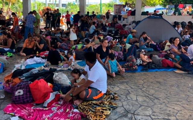 Caravana migrante avanza de Tapachula a Huixtla, Chiapas - Segob
