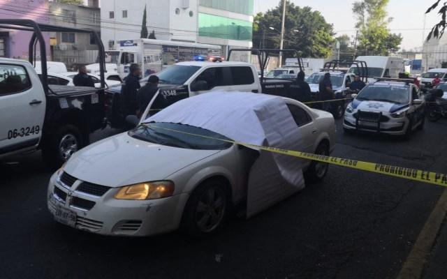 Matan a conductor tras discutir con otro automovilista en Naucalpan - Naucalpan