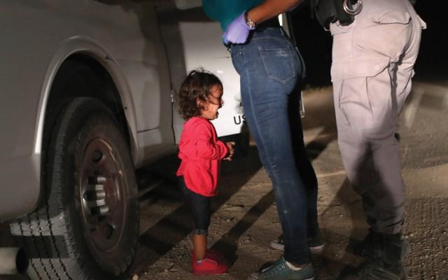 Foto de niña migrante en la frontera gana World Press Photo - Foto de AFP