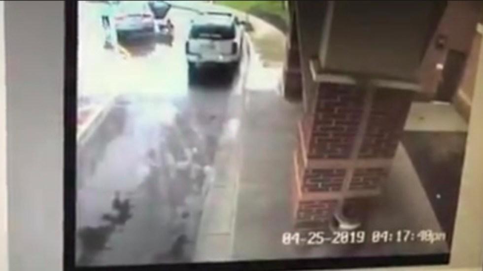 #Video Niño evita el secuestro de su hermana en Ohio - niño evita el secuestro de su hermana