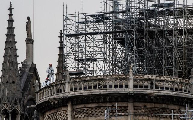Gobierno francés busca acelerar reconstrucción de Notre-Dame - Foto de AFP