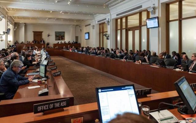 OEA respalda Operación Libertad en Venezuela - Foto de @OEA_oficial