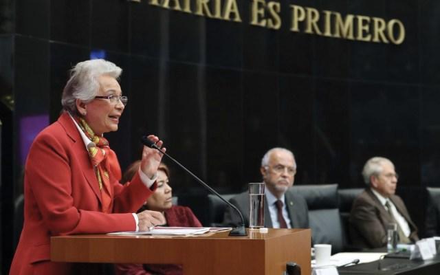 Urge reforma para abordar el uso y consumo de drogas: Sánchez Cordero - Foto de Twitter Senado de la República