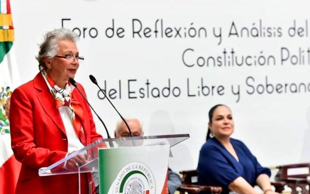 Transformar las leyes es parte de la evolución social: Sánchez Cordero - Foto de Segob