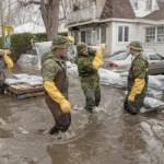 Ottawa declara estado de emergencia por inundaciones - Foto de @globeandmail