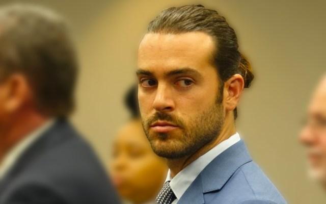 Pablo Lyle no asiste a audiencia solicitada por sus abogados - El actor en su primera audiencia. Foto de Quien