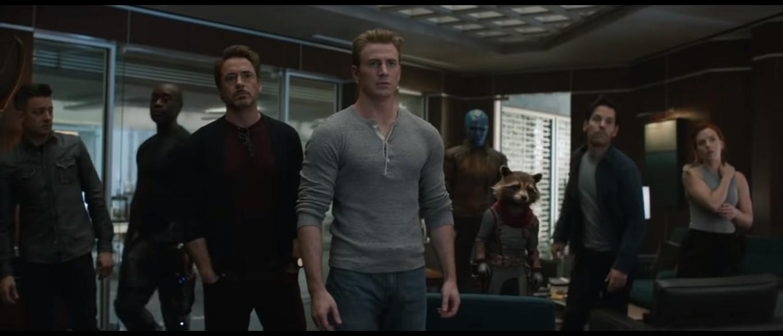 Parte de Los Vengadores sobrevivientes. Captura de pantalla