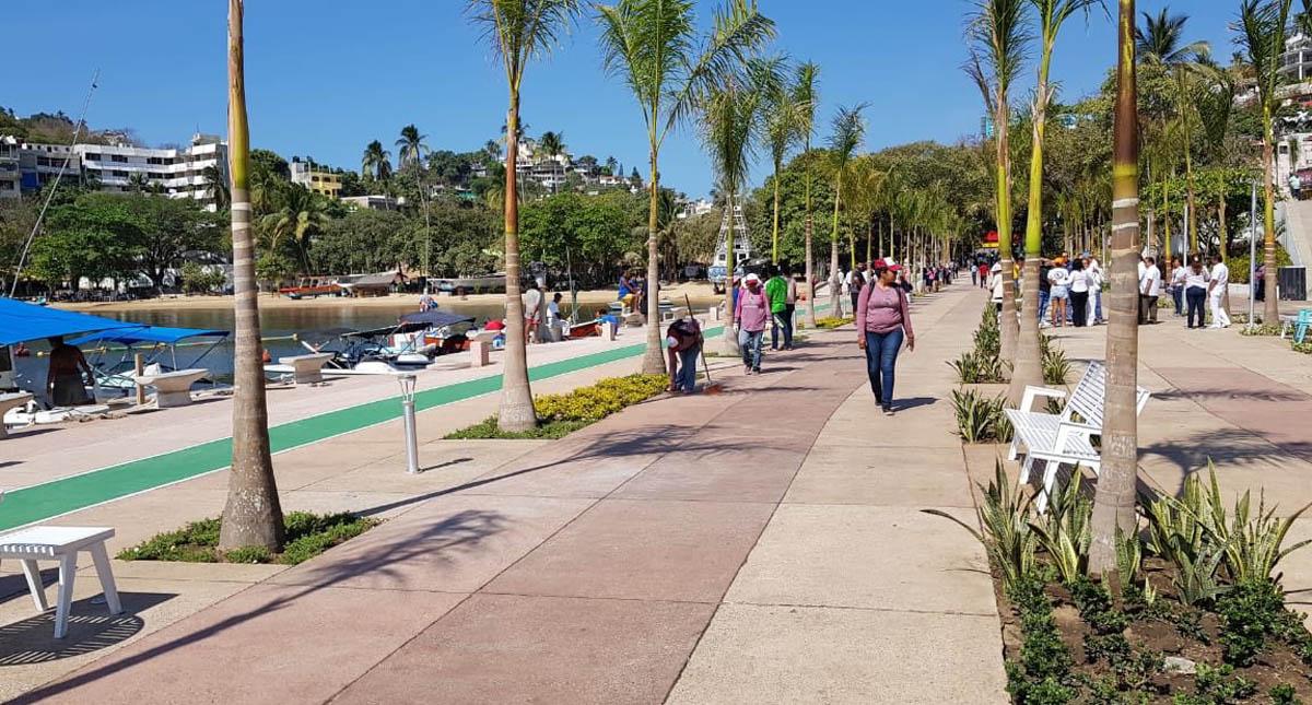 Paseo del Pescador en Acapulco. Foto de @Acapulco