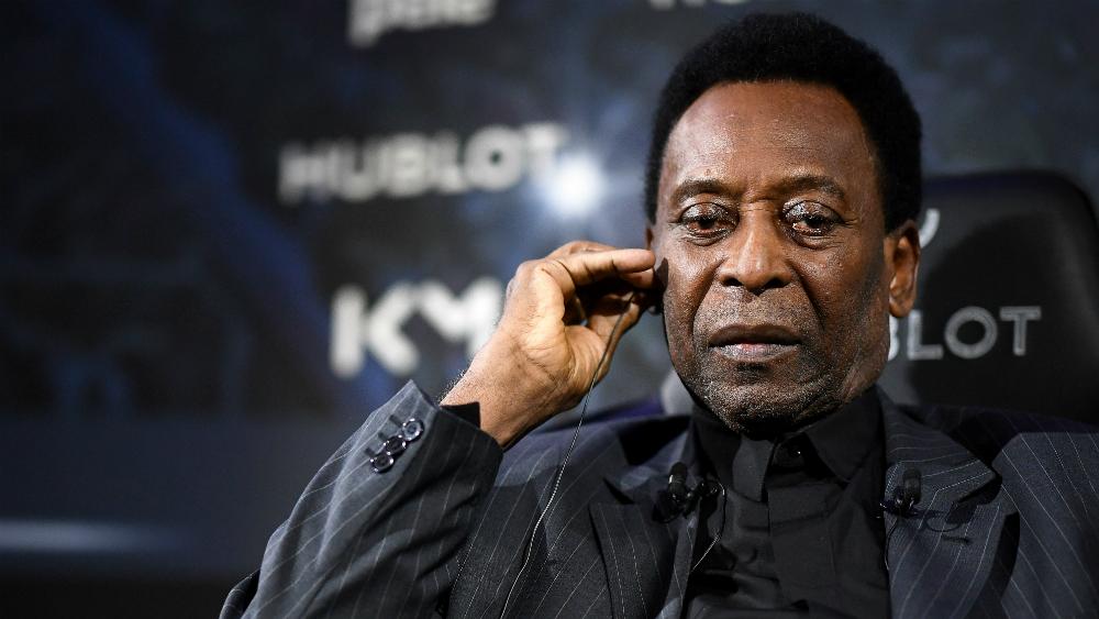 """Pelé está """"mejorando"""", pero aún sin previsión de alta - Foto de AFP"""
