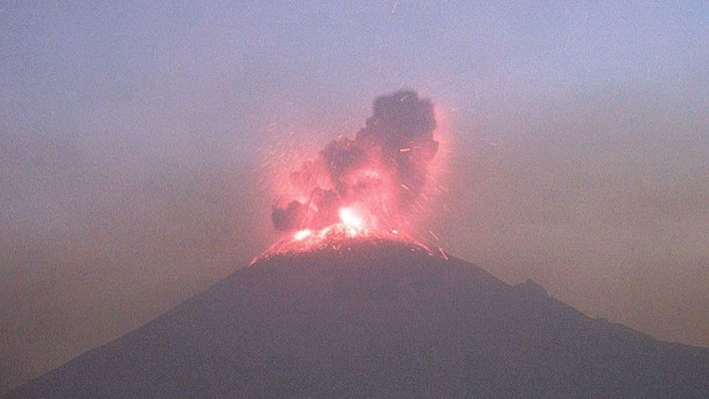 Continúa en amarillo fase 3 semáforo de alerta del volcán Popocatépetl. Noticias en tiempo real
