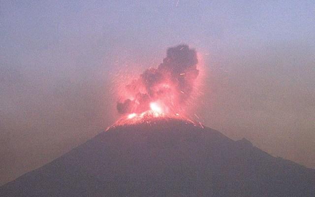 Continúa en amarillo fase 3 semáforo de alerta del volcán Popocatépetl - alerta volcánica popocatépetl