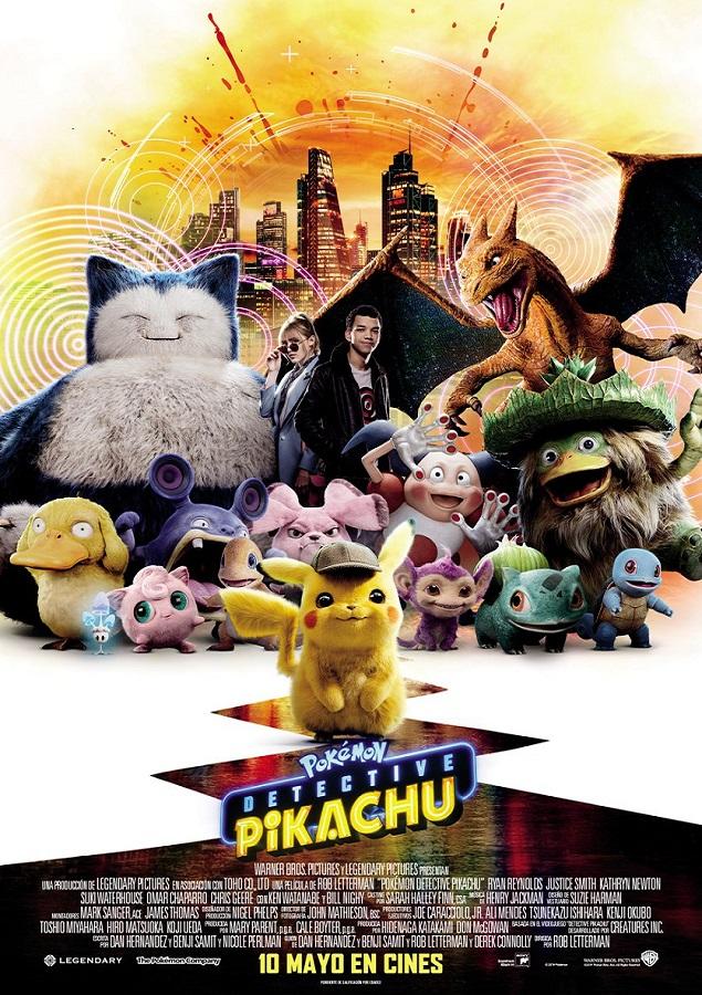 'Detective Pikachu' se convierte en la película de videojuegos más taquillera. Noticias en tiempo real
