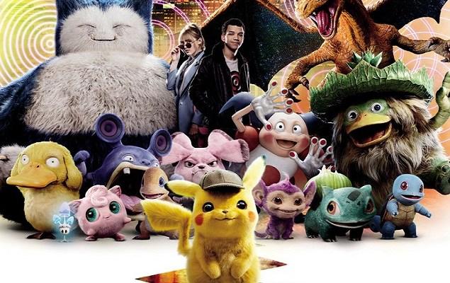 'Detective Pikachu' se convierte en la película de videojuegos más taquillera - Póster de Detective Pikachu lanzado en España. Foto de @WarnerBrosSpain