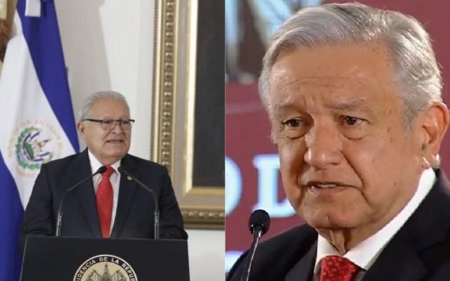 López Obrador hará gira por Chiapas con presidente de El Salvador - Presidente de El Salvador y AMLO. Foto de @sanchezceren y Captura de pantalla / LDD