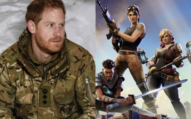 Príncipe Harry sostiene que 'Fortnite' debería estar prohibido - Foto de AFP/Epic Games