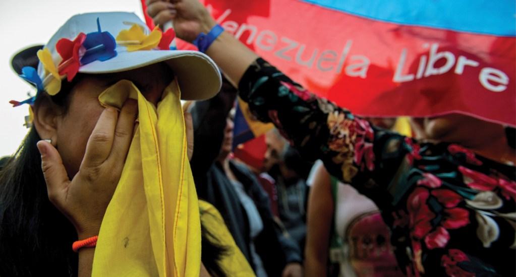 Protestan en diversas embajadas de Venezuela en el mundo - manifestaciones en embajadas