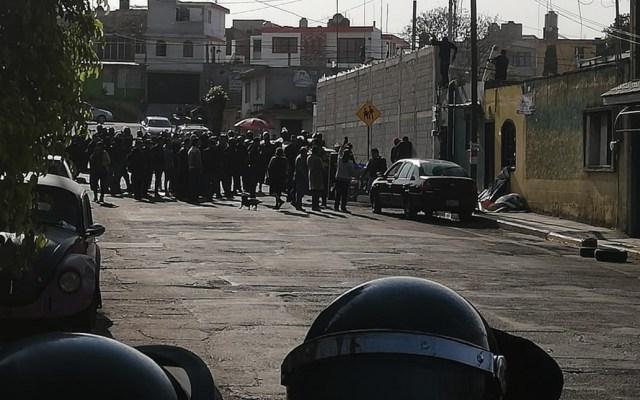 #Video Desalojo en Puebla deja cinco lesionados y un detenido - Foto de Las Noticias Puebla