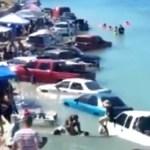 #Video Marea en playa de Puerto Peñasco sorprende a vacacionistas