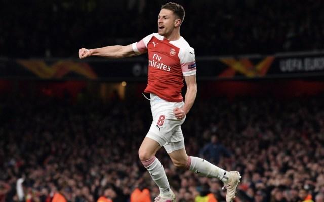 Arsenal arrolla al Nápoles y apunta a semifinales de Europa League - Foto de @EuropaLeague