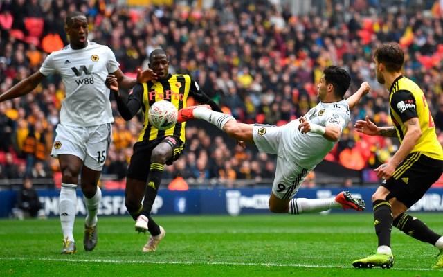 Wolves nominan gol de Jiménez como uno de los mejores de la temporada - gol de Raúl Jiménez, entre los mejores del Wolverhampton