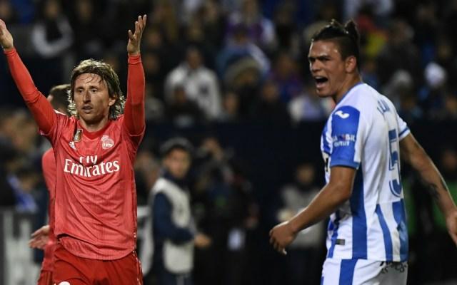 Real Madrid continúa ante Leganés con su calvario esta temporada - Foto de AFP