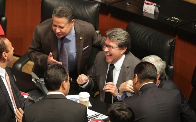 """Senado aprueba en lo general ley para que pago de impuestos se haga de """"buena fe"""" - Ricardo Monreal impulsó la nueva Ley de Fomento a la Confianza Ciudadana. Foto de Notimex"""