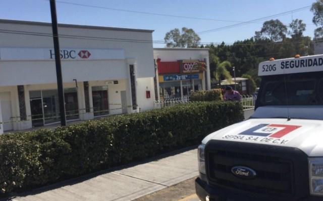 Roban casi 4 mdp a camioneta de valores en Querétaro - Foto de @ADNQro