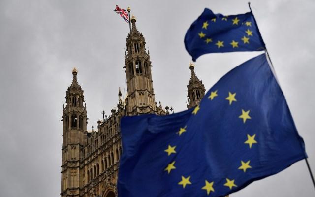 Theresa May solicita a la UE aplazamiento del Brexit - Salida de Reino Unido de la Unión Europea. Foto de AFP / Daniel Leal-Olivas