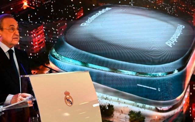 Remodelación del Santiago Bernabéu comenzará al final de temporada - Foto de AFP