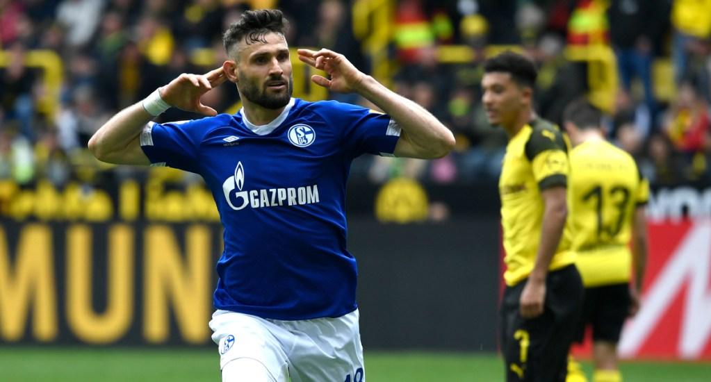 #Video Dortmund pierde contra el Schalke y se aleja del título - Schalke