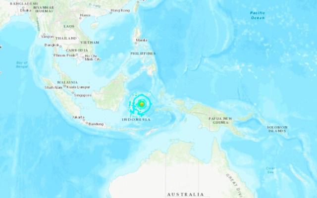 Sismo magnitud 6.8 sacude Indonesia. Hay alerta de tsunami