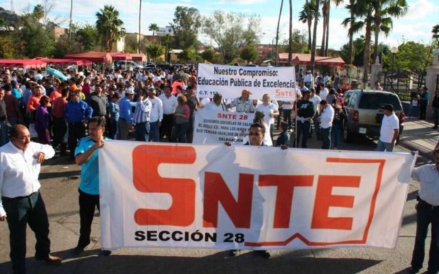 SNTE reconoce esfuerzo del gobierno por cancelar reforma educativa - snte