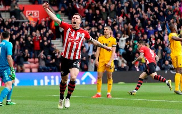Wolverhampton de Raúl Jiménez pierde ante el Southampton - Foto de @SouthamptonFC