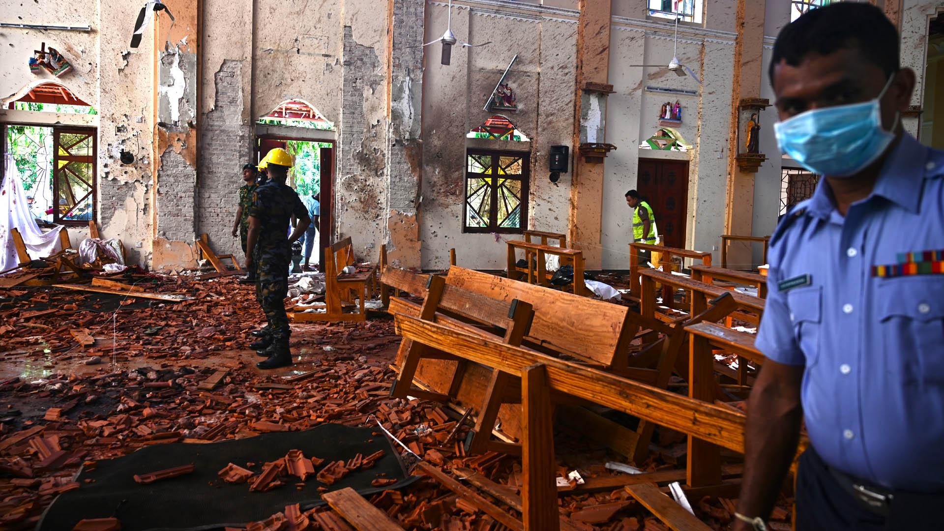 Sri Lanka reanudará las misas tras atentados