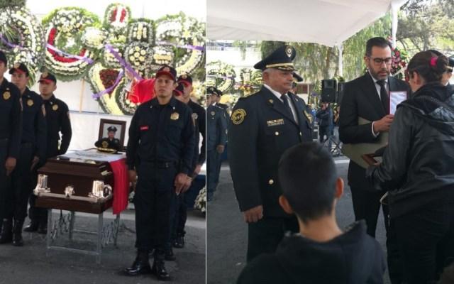 Despiden a policía que murió atropellado en alcoholímetro de Xochimilco - Foto de @MrElDiablo8