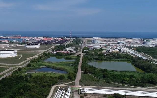 Sener no ha presentado estudio de impacto ambiental para Dos Bocas - Terreno destinado a la construcción de la Refinería de Dos Bocas. Captura de pantalla / Pemex