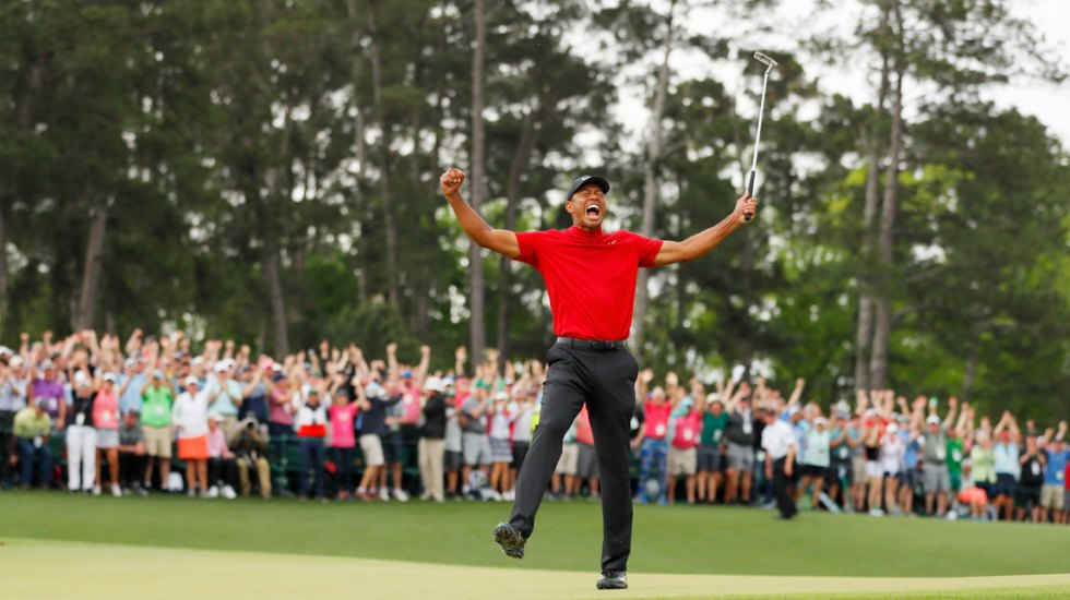 Apuesta a victoria de Tiger Woods y gana 1.19 millones de dólares - Foto de AFP