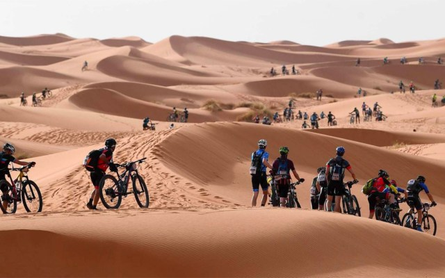Muere ciclista español durante la Titan Desert en Marruecos - Civera ciclista