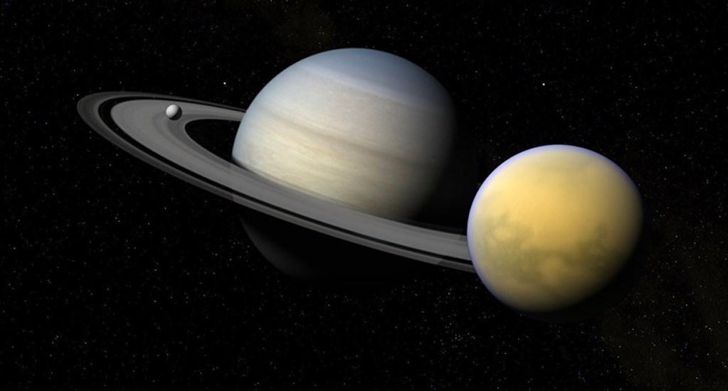 Confirman vientos huracanados en Titán, luna de Saturno - Foto de Internet