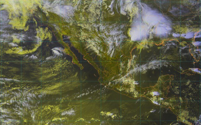 Línea seca provocará tormentas fuertes en el noreste del país - Foto de @conagua_mx