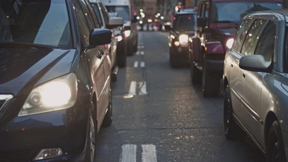 La Ciudad de México es la cuarta urbe más congestionada del mundo - Embotellamientos