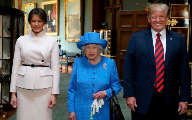Trump realizará visita de Estado a Reino Unido en junio - Foto de AFP