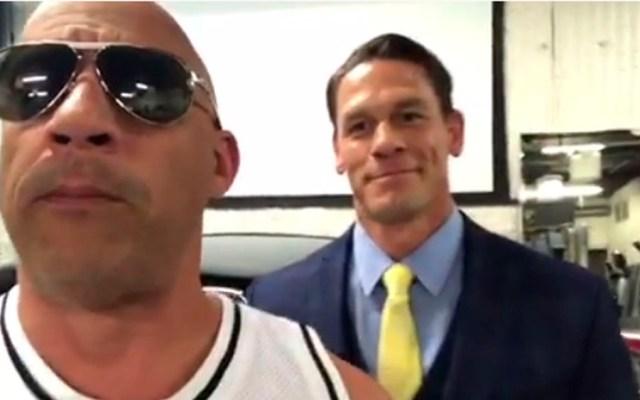 John Cena podría aparecer en nueva película de 'Rápidos y Furiosos' - vin diesel John Cena