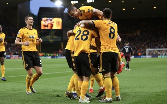 Wolverhampton y Raúl Jiménez golearon al Arsenal - Foto de @Wolves