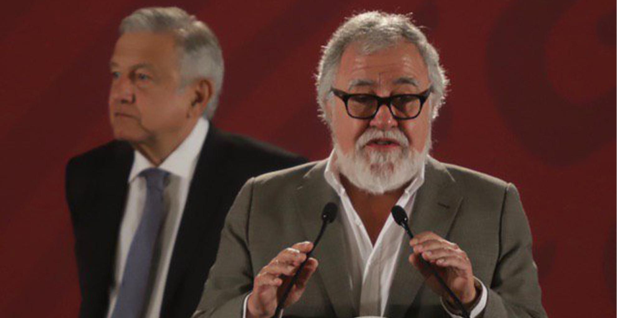 Alejandro Encinas. Foto de Notimex / Gustavo Durán.