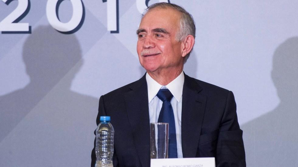 """Economía nos dio una """"cachetadita"""" en primer trimestre: Alfonso Romo - Alfonso Romo. Foto de Notimex"""
